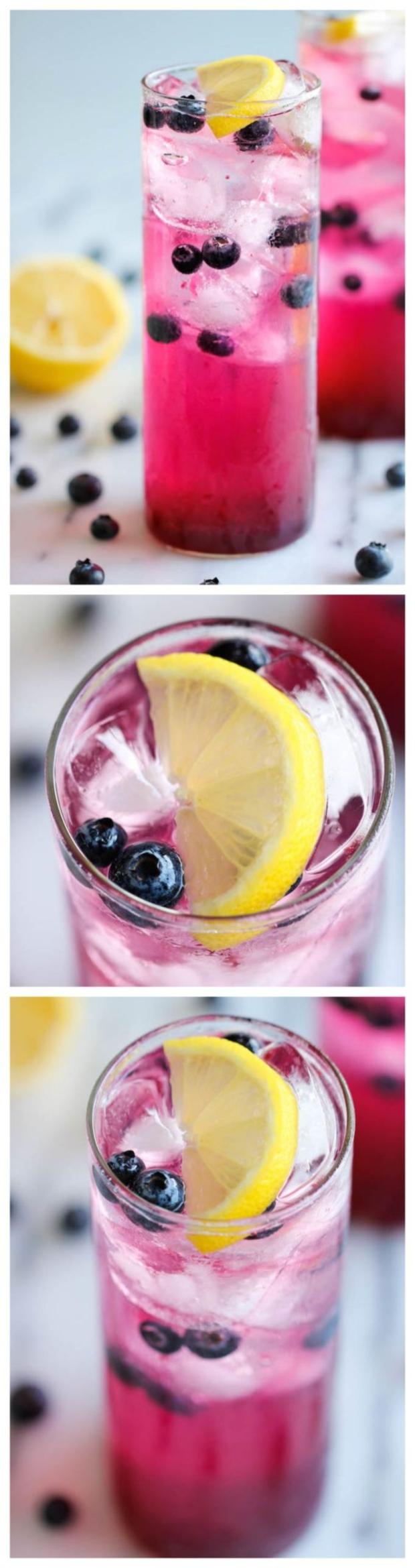 limonada cu afine si lamaie