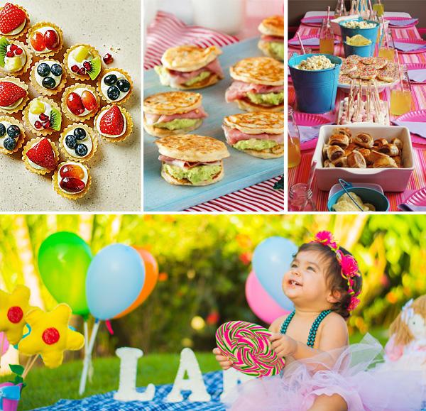 mancare petrecere copii