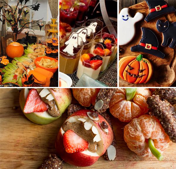 Halloween catering